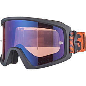 Giro Blok Gafas MTB, black/red hypnotic-vivid trail/clear
